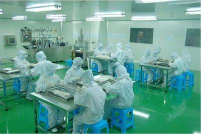 化妝品車間-凈化工程-無塵車間-潔凈工程安裝公司-無錫一凈8
