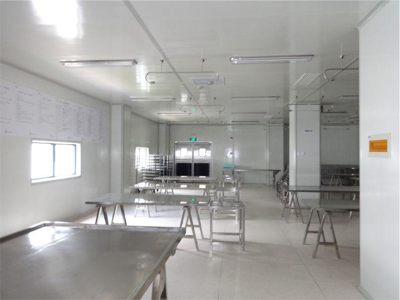中央廚房-食品無菌車間-潔凈室-凈化工程安裝-無錫一凈1