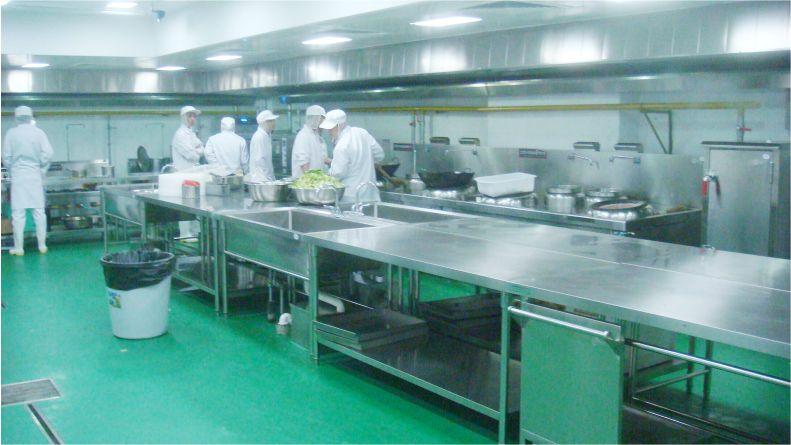 中央廚房-食品無菌車間-潔凈室-凈化工程安裝-無錫一凈2