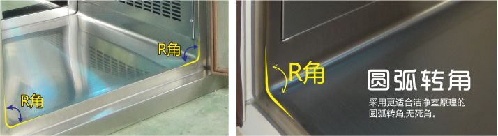 圓弧轉角 傳遞窗 無錫一凈