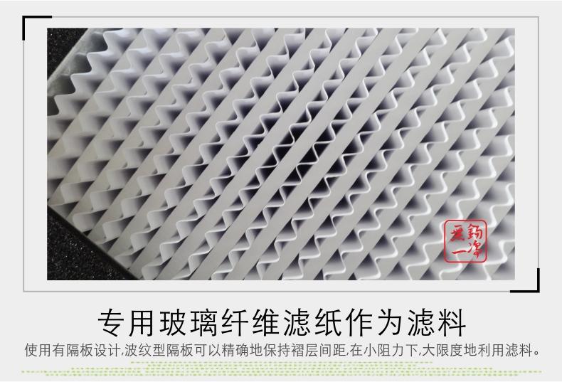 無錫一凈 有隔板高效過濾器 過濾器 高效過濾器 過濾網13