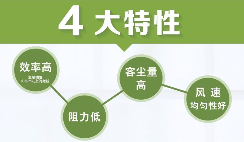 邊液槽式高效過濾器 高效過濾器 過濾器 過濾網4