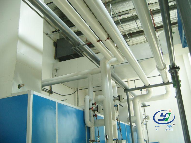 空調箱-組合式空調箱機組-車間凈化-潔凈車間-凈化工程安裝公司-無錫一凈5
