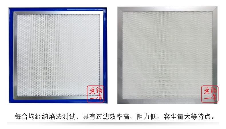 邊液槽式高效過濾器 高效過濾器 過濾器 過濾網8