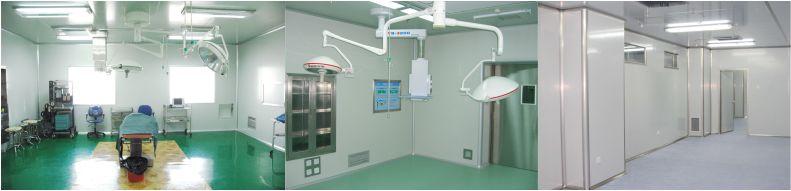 洁净手术室-医院净化工程-无菌操作室-无菌材料储存-洁净室安装-无锡一净2