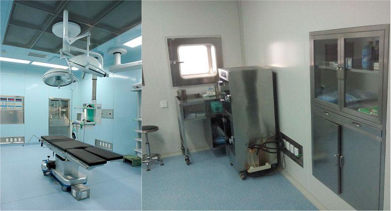 洁净手术室-医院净化工程-无菌操作室-无菌材料储存-洁净室安装-无锡一净4
