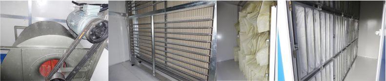 空調箱-組合式空調箱機組-車間凈化-潔凈車間-凈化工程安裝公司-無錫一凈9