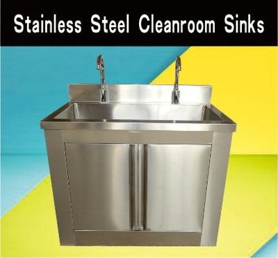 Stainless Steel Cleanroom Sinks
