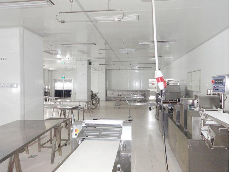 中央厨房-食品无菌车间-洁净室-净化工程安装-无锡一净4