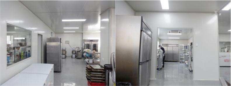 中央厨房-食品无菌车间-洁净室-净化工程安装-无锡一净3