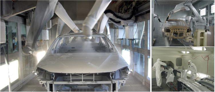汽车涂装风淋室-汽车生产厂家风淋室-无锡一净6