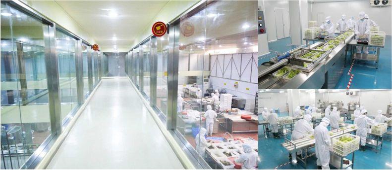 中央厨房-食品无菌车间-洁净室-净化工程安装-无锡一净5