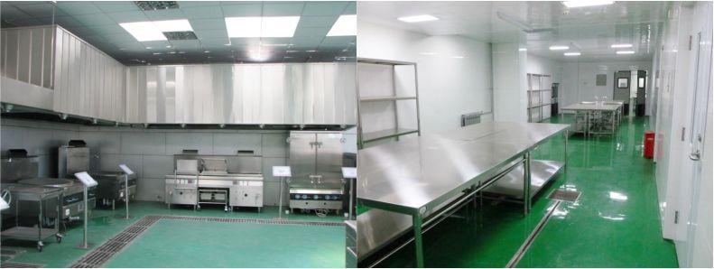 中央厨房-食品无菌车间-洁净室-净化工程安装-无锡一净9