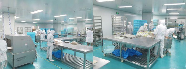中央厨房-食品无菌车间-洁净室-净化工程安装-无锡一净10