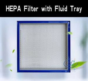 HEPA Filter with Fluid Tray