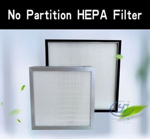 No Partition HEPA Filter