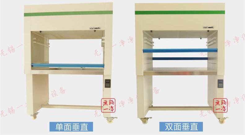 垂直工作台可分为2种样式-无锡一净
