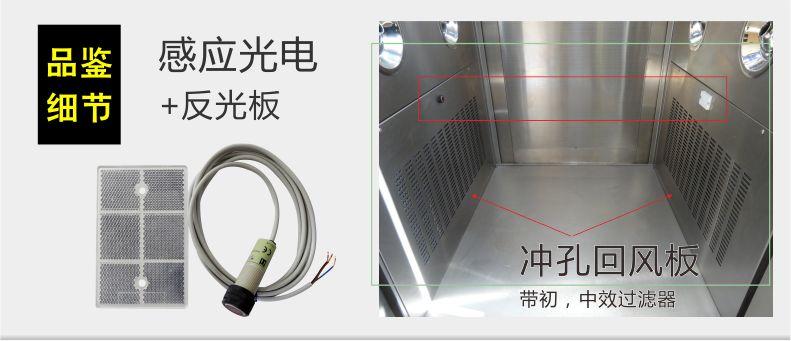 感应光电+反光板
